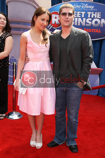 Rob Thomas and wife Marisol<br />