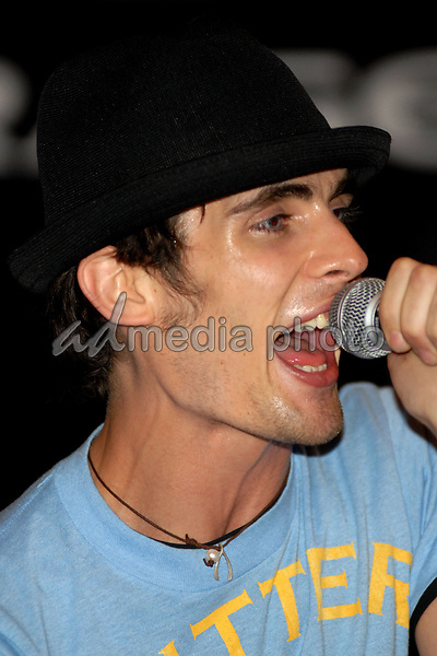 21 June 2006 - New York, NY - Tyson Ritter. The All-American Rejects perform at Virgin Megastore Times Square. Photo Credit: Paul Hawthorne/AdMedia   *** Local Caption ***