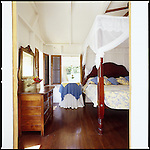 luxurious cottage accommodations at The Hermitage Plantation Inn, Nevis, West Indies