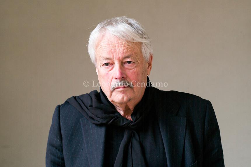 Slobodan Snajder, e uno scrittore e drammaturgo croato. © Leonardo Cendamo