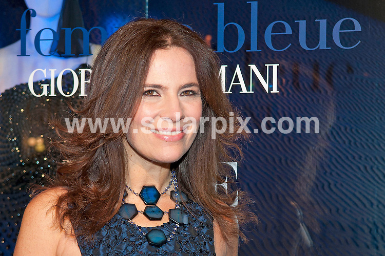 **ALL ROUND PICTURES FROM SOLARPIX.COM**                                             **WORLDWIDE SYNDICATION RIGHTS EXCEPT SPAIN - NO SYNDICATION IN SPAIN**                                                                                  Caption: Roberta Armani, niece of Italian designer Giorgio Armani attends a presentation of the new Georgio Armani collection - Georgio Armani & Vogue show La Femme Bleue - at the Armani store in Madrid, Spain. 17 March 2011.                                                                  This pic: Roberta Armani                                                                                             JOB REF: 12986 DMS      DATE: 17_03_2011                                                          **MUST CREDIT SOLARPIX.COM OR DOUBLE FEE WILL BE CHARGED**                                                                      **MUST AGREE FEE BEFORE ONLINE USAGE**                               **CALL US ON: +34 952 811 768 or LOW RATE FROM UK 0844 617 7637**