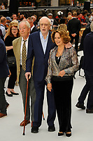 LONDON, ENGLAND - SEPTEMBER 12: Michael Gambon, Michael Caine and Francesca Annis attending the World Premiere of 'King Of Thieves' at Vue West End, Leicester Square on September 12, 2018 in London, England.<br /> CAP/MAR<br /> &copy;MAR/Capital Pictures