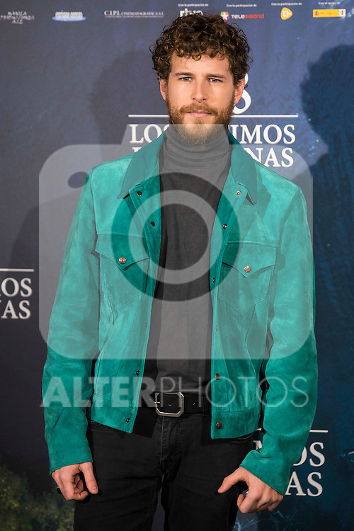 "Alvaro Cervantes attends to the presentation of the spanish film "" 1898. Los ultimos de Filipinas"" at Naval Museum in Madrid, Spain. November 28, 2016. (ALTERPHOTOS/BorjaB.Hojas)"