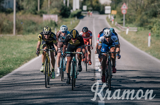 Philippe Gilbert (BEL/Quick Step floors) & others storming towards the infamous Muro di Sormano<br /> <br /> Il Lombardia 2017<br /> Bergamo to Como (ITA) 247km