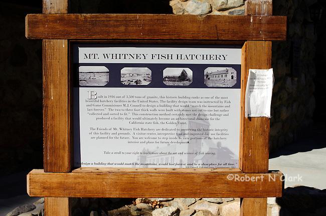 Mount Whitney Fish Hatchery