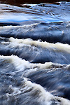 Blue Sky Reflecting in Rapids on the Clough River Garsdale Yorkshire Dales