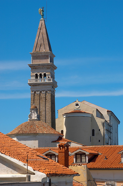 St George Church. Piran , Slovenia
