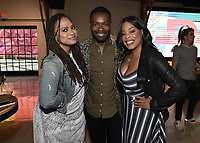 """LOS ANGELES, CA - AUGUST 16:  Ava Duvernay, David Oyelowo and Niecy Nash at the Ava Duvernay Hosted Special Screening of the Blumhouse film """"Don't Let Go"""" at the Amanda Theater at Array Creative Campus on August 16, 2019 in Los Angeles, California. (Photo by Scott Kirkland/Blumhouse/PictureGroup)"""
