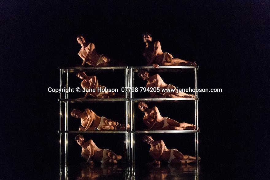 "Scottish Ballet present a double bill of Angelin Preljocaj's ""MC 14/22"" and Crystal Pite's ""Emergence"", at the Festival Theatre, as part of the Edinburgh International Festival. The piece shown is: ""MC 14/22"", choreographed by Angelin Preljocaj."