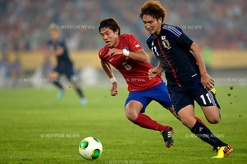Genki Haraguchi (JPN),<br /> JULY 28, 2013 - Football / Soccer :<br /> EAFF East Asian Cup 2013 match between South Korea 1-2 Japan at Jamsil Olympic Stadium in Seoul, South Korea. (Photo by FAR EAST PRESS/AFLO)