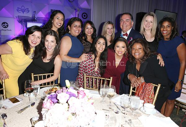LOS ANGELES, CA - NOVEMBER 8: Eva Longoria, Guests, at the Eva Longoria Foundation Dinner Gala honoring Zoe Saldana and Gina Rodriguez at The Four Seasons Beverly Hills in Los Angeles, California on November 8, 2018. Credit: Faye Sadou/MediaPunch