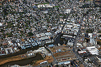 aerial photograph Petaluma, Sonoma county, California