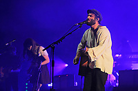 LONDON, ENGLAND - NOVEMBER 7: Julia Stone and Angus Stone of 'Angus and Julia Stone' performing at Brixton Academy on November 7, 2017 in London, England.<br /> CAP/MAR<br /> &copy;MAR/Capital Pictures