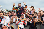 GP Deutschland during the World Championship 2014.<br /> Sachsering, Germany.<br /> races<br /> marc marquez<br /> Rafa Marrodán by PHOTOCALL3000