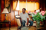 Fate Morris in his Birmingham home August 14, 2013. His older sister Cynthia Wesley (Morris) was killed when a bomb went off at 16th Street Baptist Church September 15, 1963.