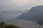 The peloton will finish at Lake Como today during Stage 15 of the 2019 Giro d'Italia, running 232km from Ivrea to Como, Italy. 26th May 2019<br /> Picture: Eoin Clarke   Cyclefile<br /> <br /> All photos usage must carry mandatory copyright credit (© Cyclefile   Eoin Clarke)