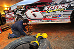Feb 03, 2011; 5:47:09 PM; Sylvania, GA., USA; An Unsactioned Racing Event Running a 10,000 To Win During Speedweeks 2011 At Screven Motor Speedway.  Mandatory Credit: (thesportswire.net)