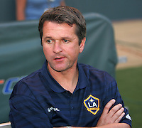 LA Galaxy Head Coach Frank Yallop. CD Chivas USA defeated the LA Galaxy 3-0 in the Super Classico MLS match at the Home Depot Center in Carson, California, Thursday, August 23, 2007.