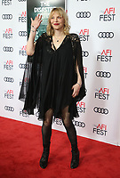 HOLLYWOOD, CA - NOVEMBER 12: Courtney Love at the AFI Fest 2017 Centerpiece Gala Presentation of The Disaster Artist on November 12, 2017 at the TCL Chinese Theatre in Hollywood, California. <br /> CAP/MPIFS<br /> &copy;MPIFS/Capital Pictures