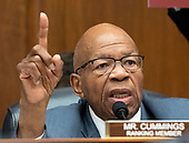 "United States Representative Elijah Cummings (Democrat of Maryland), Ranking Member, US House Committee on Oversight and Government Reform, makes opening remarks prior to hearing from FBI Deputy Assistant Director Peter Strzok who will during a joint hearing of both the Oversight and the US  House Committee on the Judiciary on ""Oversight of FBI and DOJ Actions Surrounding the 2016 Election"" on Capitol Hill in Washington, DC on Thursday, July 12, 2018. <br /> Credit: Ron Sachs / CNP<br /> (RESTRICTION: NO New York or New Jersey Newspapers or newspapers within a 75 mile radius of New York City)"