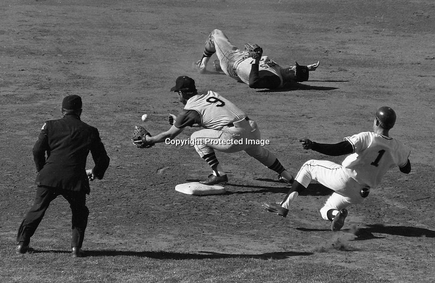 San Francisco Giants bs Pittsburg Pirates, 1968<br />
