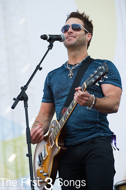 Matt Thomas of Parmalee performs on Day Two of the 2014 CMA Music Festival in Nashville, Tennessee.