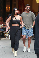 NEW YORK, NY - AUGUST 2: Kim Kardashian and Scott Disick go out to eat at Cipriani on August 2, 2017 in New York City. Credit: DC/Media Punch