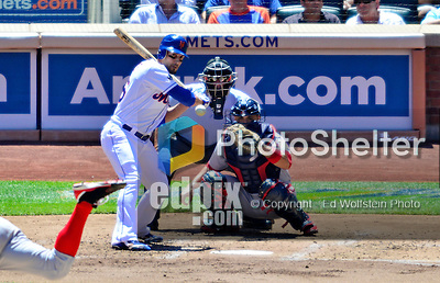 25 July 2012: New York Mets center fielder Andres Torres in action against the Washington Nationals at Citi Field in Flushing, NY. The Nationals defeated the Mets 5-2 to sweep their 3-game series. Mandatory Credit: Ed Wolfstein Photo