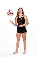 Stanford, CA -- January 16, 2019: Morgan Hentz, Beach Volleyball.
