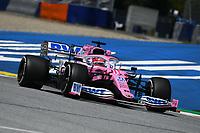 10th July 2020; Styria, Austria; FIA Formula One World Championship 2020, Grand Prix of Styria free practice sessions; 11 Sergio Perez MEX, BWT Racing Point F1 Team