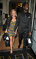 Gabrielle Allen and Marcel Somerville at the Wellness Awards 2018, BAFTA, Piccadilly, London, England, UK, on Thursday 01 February 2018.<br /> CAP/CAN<br /> &copy;CAN/Capital Pictures