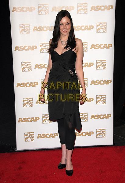 ANNA NALIK .Attends The ASCAP Pop Awards held at The Kodak Theatre in Hollywood, California on .April 18th, 2007.full length black dress leggings .CAP/DVS.©Debbie VanStory/Capital Pictures