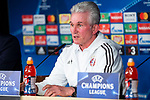 Bayern Múnich coach Jupp Heynckes during press conference day before UEFA Champions League semi finals match between Real Madrid and Bayern Múnich at Santiago Bernabeu Stadium in Madrid, Spain. April 30, 2018. (ALTERPHOTOS/Borja B.Hojas)