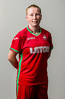 Wedensday 26 July 2017<br />Pictured: Stacey John-Davis<br />Re: Swansea City Ladies Squad 2017- 2018 at the Liberty Stadium, Wales, UK