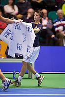 14-12-12, Rotterdam, Tennis Masters 2012, Ballboy giving towel
