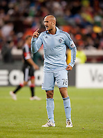 Aurelien Collin.  Sporting KC defeated D.C. United, 1-0, at RFK Stadium in Washington, DC.