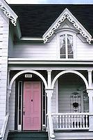 Ferndale CA:  Berding Cottage, detail.  Photo '83.