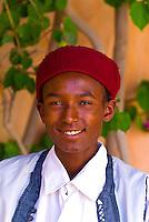 Boy at Hotel Le Hammam, Djerba Island, Tunisia