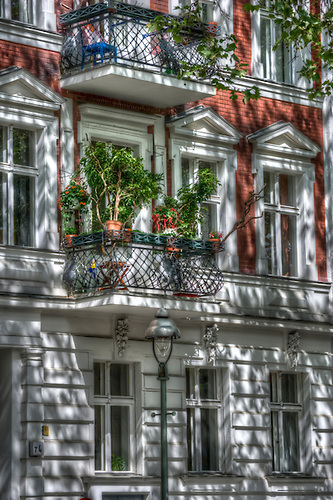 Kreuzberg in May, HDR shots