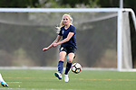 CHARLOTTE, NC - MARCH 25: Courage's Courtney Niemiec. The NWSL's North Carolina Courage played their first preseason game against the University of Tennessee Volunteers on March 25, 2017, at Queens University of Charlotte Sports Complex in Charlotte, NC. The Courage won the match 3-0.