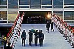 Funeral de Tancredo Neves, Palácio do Planalto, Brasília. 1985. Foto de Ricardo Azoury.