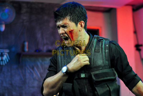 Iko Uwais.in The Raid: Redemption (Serbuan maut).*Filmstill - Editorial Use Only*.CAP/FB.Supplied by Capital Pictures.