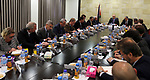Palestinian Prime Minister, Rami Hamdallah, meets with Consuls, ambassadors and representatives of the European Union, in the West bank city of Ramallah, on December 6 , 2017. Photo by Prime Minister Office