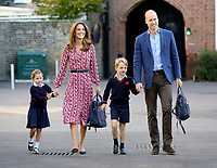 Princess Charlotte First Day of School at Thomas's Battersea