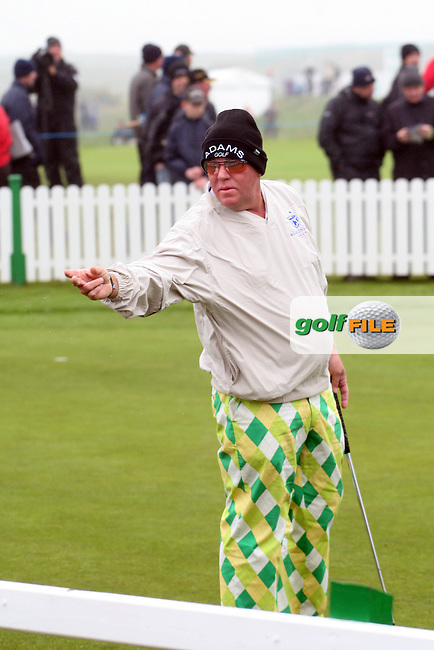John Daly at the Irish Open in Co.Louth Golf Club,  Baltray...Photo NEWSFILE/Jenny Matthews.(Photo credit should read Jenny Matthews/NEWSFILE)....This Picture has been sent you under the condtions enclosed by:.Newsfile Ltd..The Studio,.Millmount Abbey,.Drogheda,.Co Meath..Ireland..Tel: +353(0)41-9871240.Fax: +353(0)41-9871260.GSM: +353(0)86-2500958.email: pictures@newsfile.ie.www.newsfile.ie.FTP: 193.120.102.198.