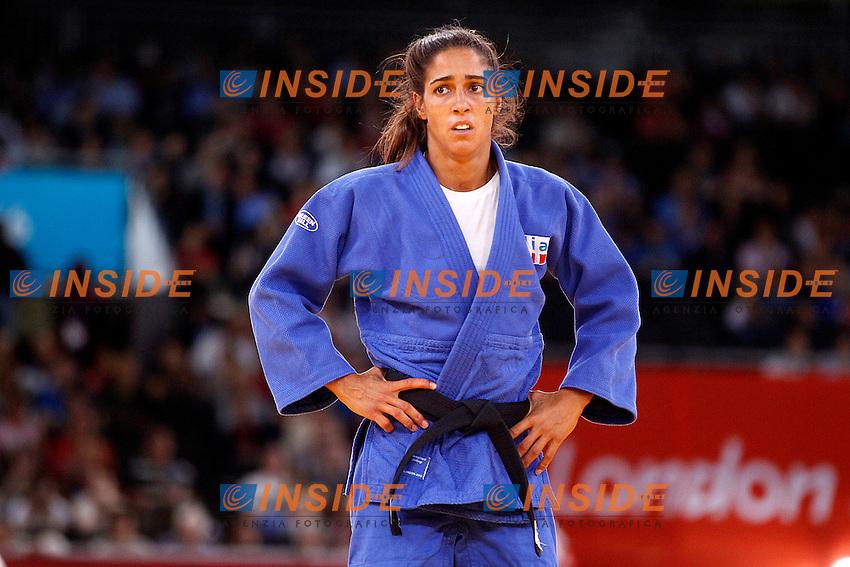 Giulia Quintavalle durante gli ottavi di finale del torneo di Judo -57Kg.Londra 30/07/2012 Olimpiadi Londra 2012 ExCeL.Foto Insidefoto Paolo Nucci