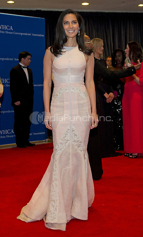 Olivia Munn arrives for the 2014 White House Correspondents Association Annual Dinner at the Washington Hilton Hotel on Saturday, May 3, 2014.<br /> Credit: Ron Sachs / CNP<br /> (RESTRICTION: NO New York or New Jersey Newspapers or newspapers within a 75 mile radius of New York City) /MediaPunch