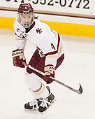 Megan Keller (BC - 4) - The Boston College Eagles defeated the Northeastern University Huskies 5-1 (EN) in their NCAA Quarterfinal on Saturday, March 12, 2016, at Kelley Rink in Conte Forum in Boston, Massachusetts.