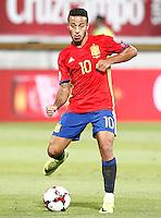 Spain's Thiago Alcantara during FIFA World Cup 2018 Qualifying Round match. September 5,2016.(ALTERPHOTOS/Acero)