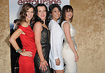 Perrey Reeves,Debi Mazar,Emmanuelle Chriqui & Carla Gugino at the HBP Premiere of The 7th Season of Entourage held at Paramount Picture Studios in Hollywood, California on June 16,2010                                                                               © 2010 Debbie VanStory / Hollywood Press Agency